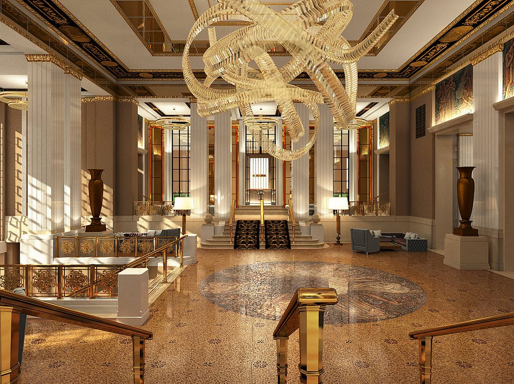 6sqft nyc real estate and architecture news part 3 for Design hotel waldorf