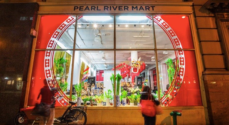 peral river mart pop-up shop