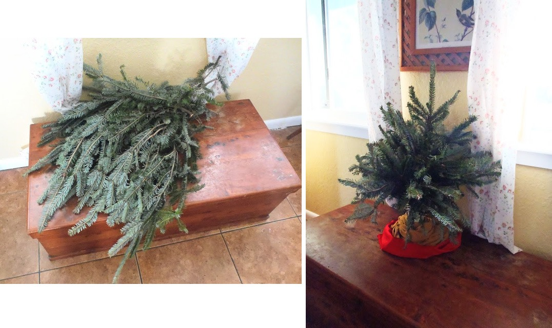 diy homemade christmas tree