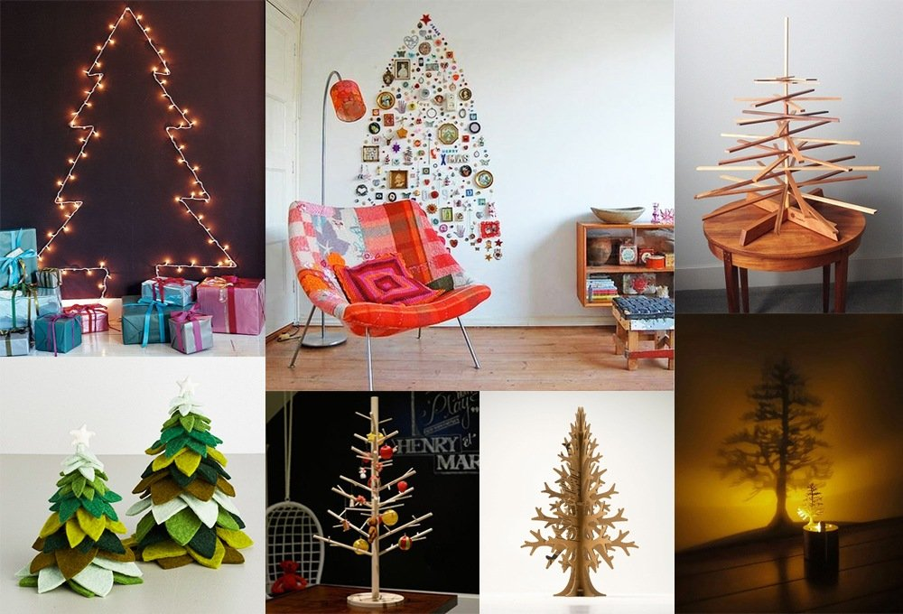 view photo in gallery - Christmas Decor Without A Tree