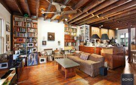 29 Downing Street, West Village, Artist studio, John Bennett, Karen Lee Grant, Aaron Burr, historic homes, carriage house, quirky homes