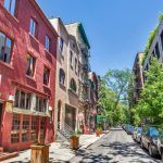29 Downing Street, West Village, Artist studio, John Bennett, Karen Lee Grant, Aaron Burr, historic homes, carriage house, quirky homes