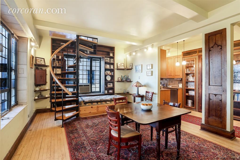 $2.5M For A Central Park Duplex With Its Own Romantic Terrace