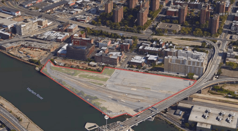 State seeks proposals for massive development above South Bronx rail yard tracks