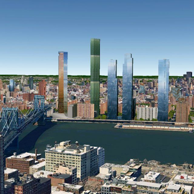 Controversial Lower East Side site getting two more 700+ foot towers