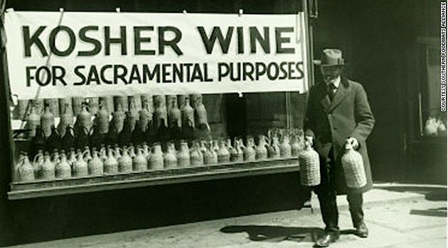 Alcohol could still be used for religeous purposes so people claimed they were Jewish in order to purchase Kosher wine