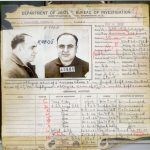 Al Capone's criminal record. He was eventually incarcerated because of tax evasion. Source,FBI History files