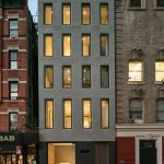 357 West 17th Street, Cool Listings, mansion, Chelsea, Karim Rashid, urban mcmansion, roof deck, garage, outdoor spaces, wine room, wine cellar, gym, spa, pool, private pool, townhouse, private garage,