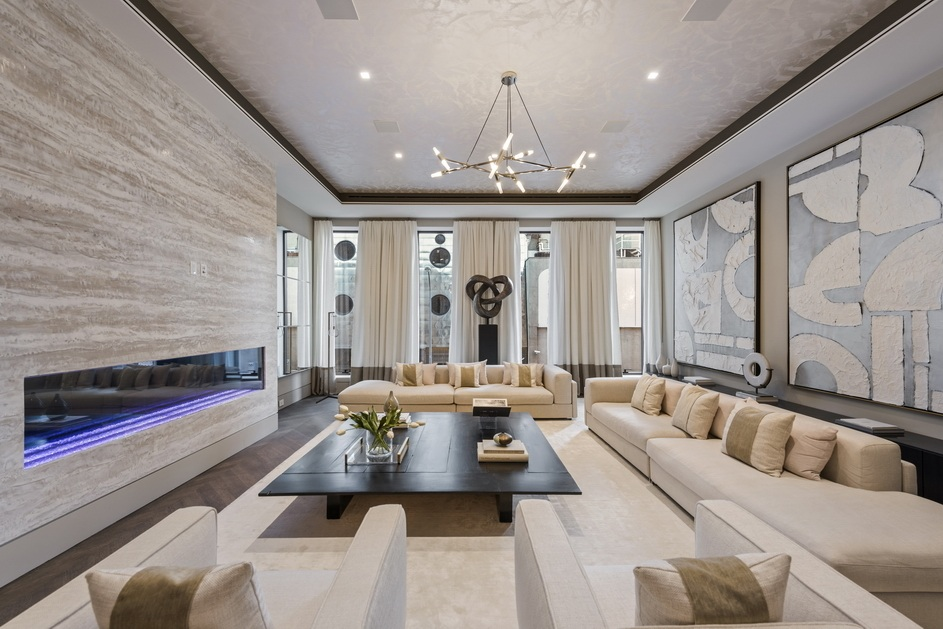 West Chelsea mansion reboot with gym, pool, elevator, theatre and wine room ready for its $36.8M close-up