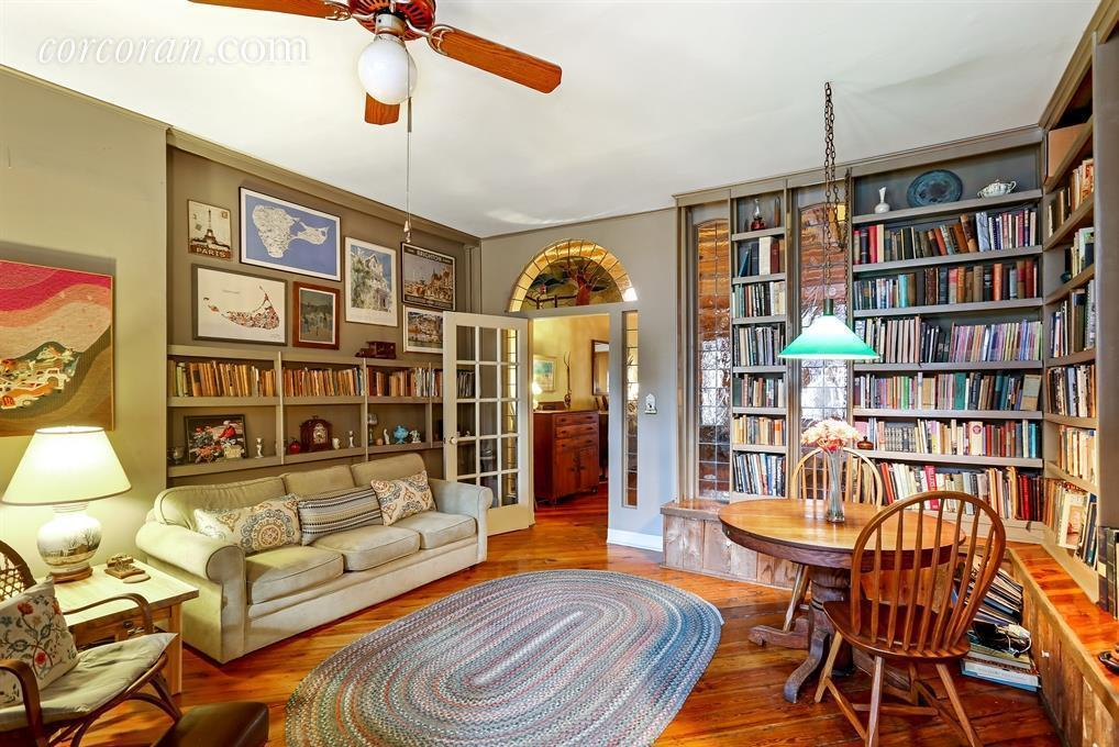 173 Pacific Street, Cool Listings, carriage house, townhouse, garden, outdoor space, cobble hill, historic homes, zebras