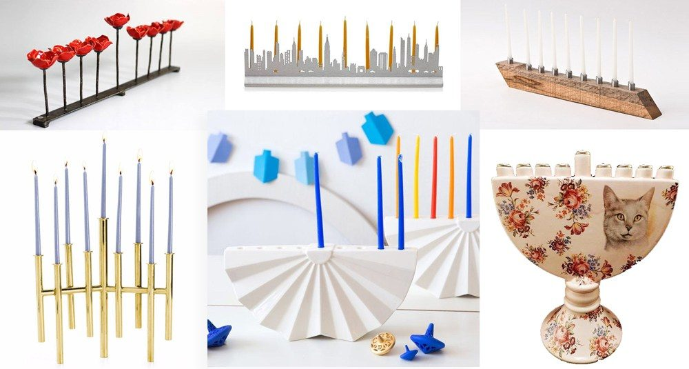 10 modern menorah designs for Hanukkah 2016