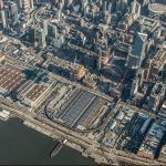 Hudson Yards construction, Hudson Yards aerial