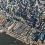 Hudson Yards construction, Hudson Yards aerial