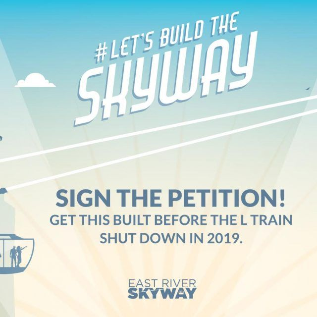 Public petition asks Mayor de Blasio to back East River Skyway