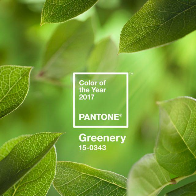 Pantone hopes their 2017 color 'greenery' will give us hope; Chelsea Market is the world's best food hall