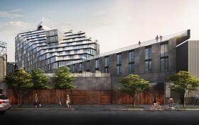500 Metropolitan Avenue, KBA Architects, Williamsburg hotels, Kellogg's Diner