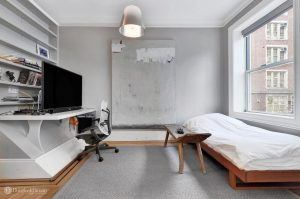 323 West 21st Street, Cool Listings, Chelsea, Firehouse, Manhattan Rental, Historic Homes, Andy Warhol, carriage house