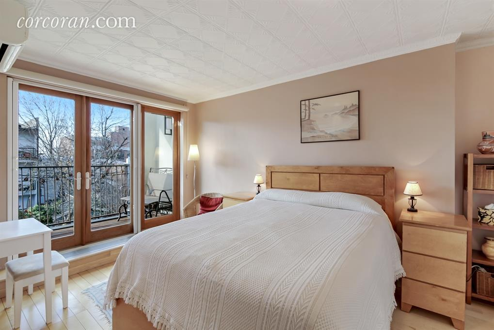 Brick townhouse in south slope has a sunroom and a for 18th floor balcony mp3