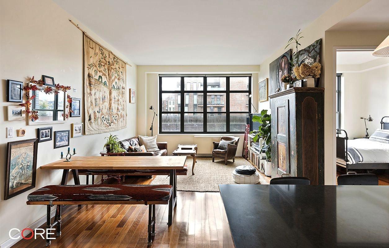 Lofty Two Bedroom Williamsburg Pad With Massive Windows Asks 1395M