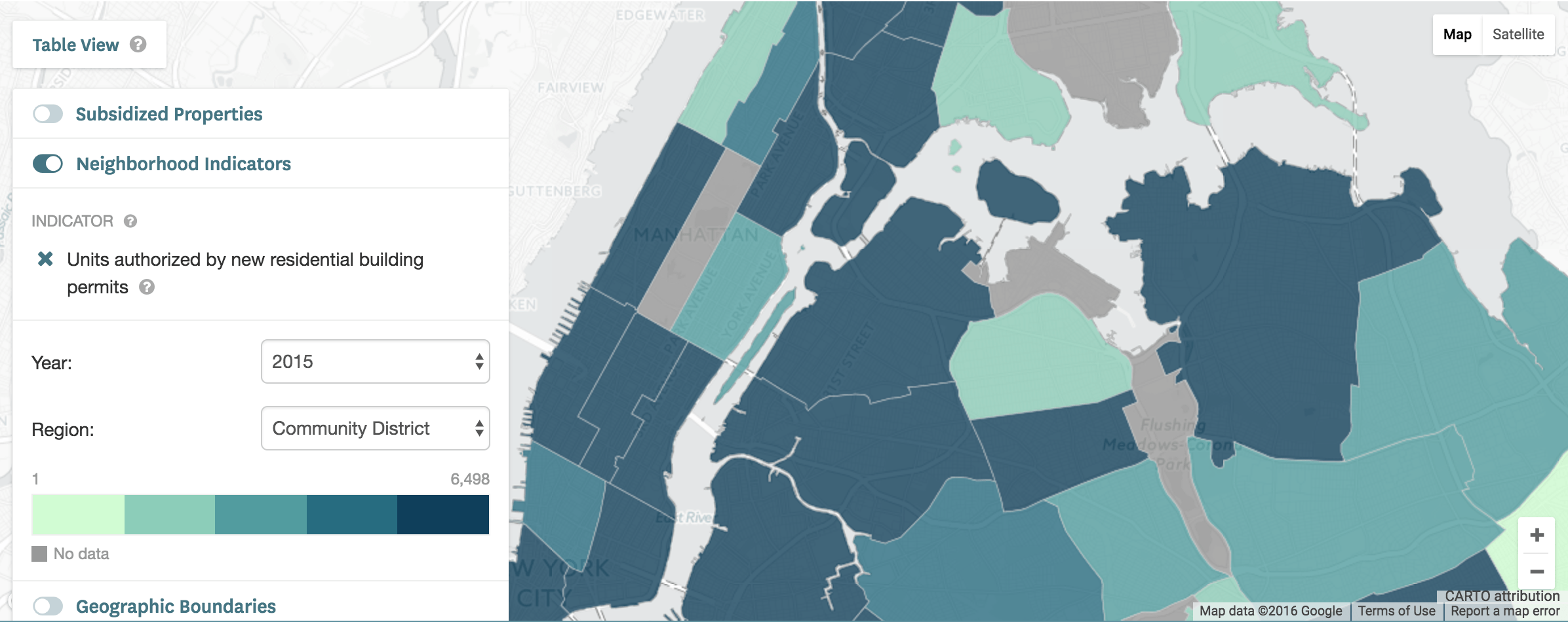 Track Affordable Housing Across NYC With This New Map And Data - Nyc city map portal