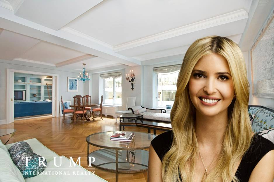 Ivanka Trump's Park Avenue starter pad, still without a buyer, gets a rental price chop to $13K a month