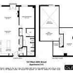 121 west 20th street, condo, chelsea, floorplan