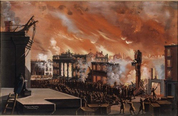 the great fire of 1835, history,