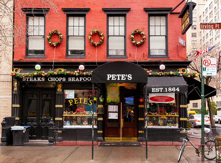 The Urban Lens: Visiting Gramercy's Pete's Tavern, where O