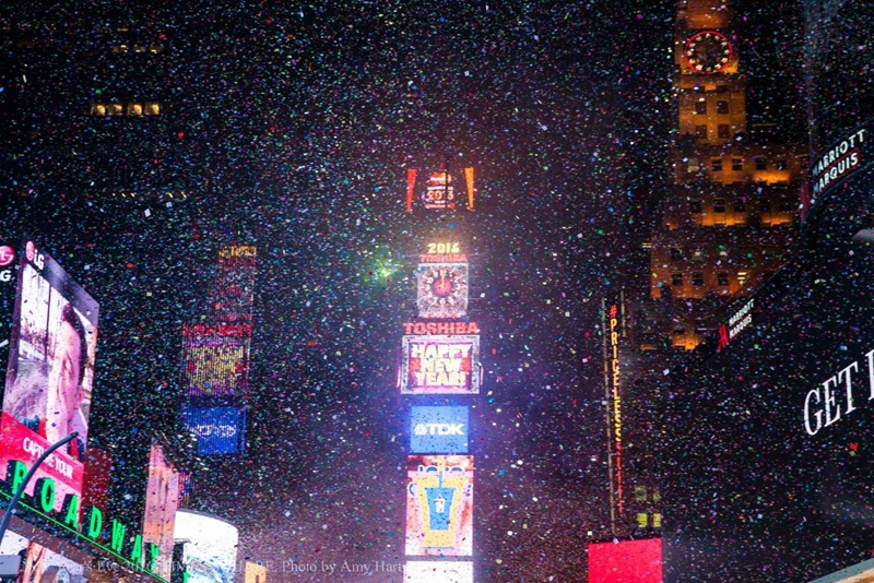 happy new year to all timessquare