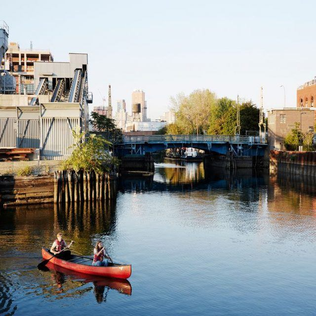 Department of Health says it's okay to eat Gowanus Canal fish in moderation and kayak in the water