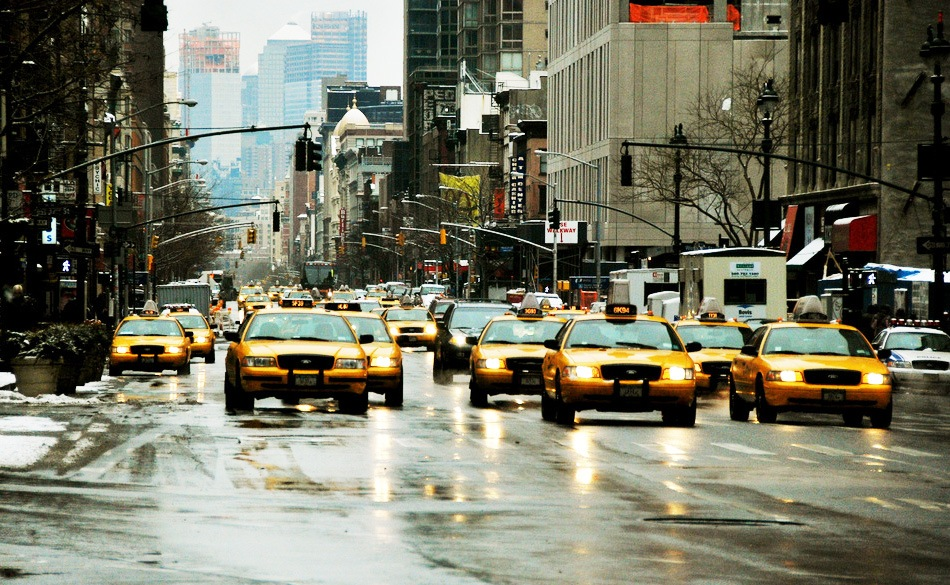 With the rise of ride-hailing apps, daily yellow cab trips fell 27 percent since 2010
