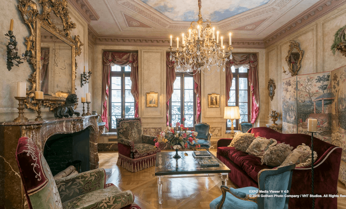 Go for baroque in this $18M Upper East Side townhouse with a three