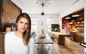 119 Vanderbilt, Clinton Hill, townhouses, Lake Bell, Celebrities, Cool listings, Wallabout, historic homes, outdoor spaces, interiors, lake bell home