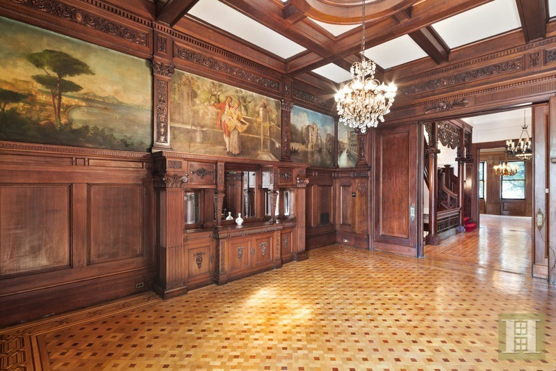 $8.8M 20-room limestone Park Slope mansion was built in 1905 for a furniture tycoon