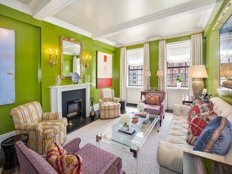 There's a room for every color of the rainbow in this $5M Upper East Side co-op