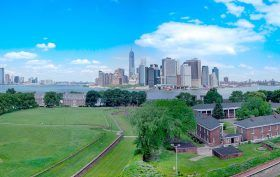 governors island, hudson river, buttermilk channel