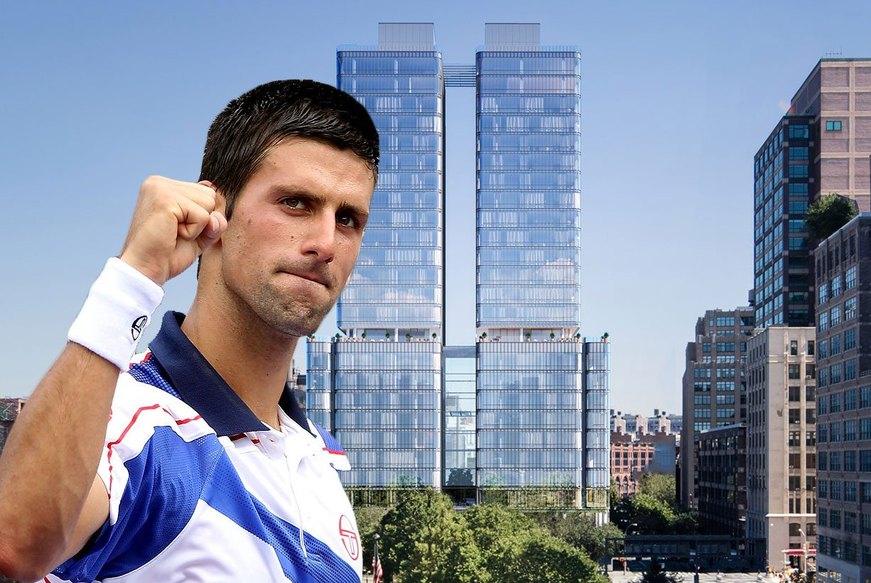 Tennis great Novak Djokovic s two units in Renzo Piano s 565