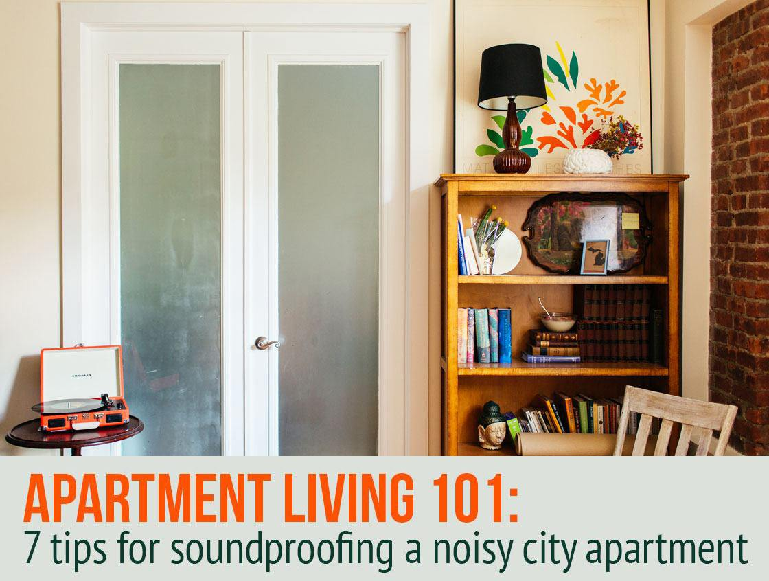 7 ways to soundproof a noisy apartment 6sqft Soundproof a bedroom wall noisy neighbours