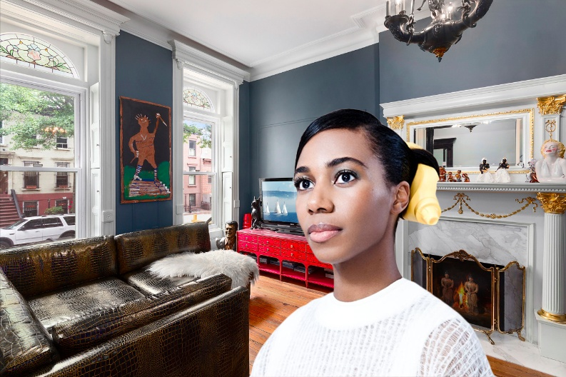 Pop singer Santigold lists her ornate Bed-Stuy brownstone for $1.95 million