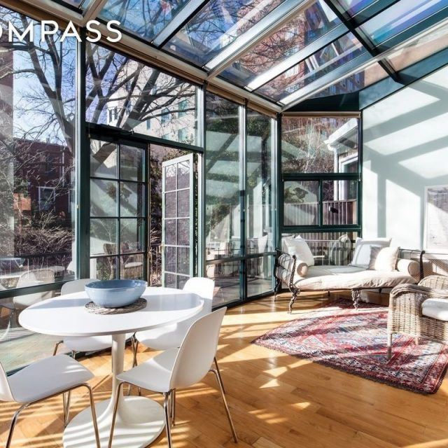 $12,000/month to rent this triplex townhouse beauty in Boerum Hill