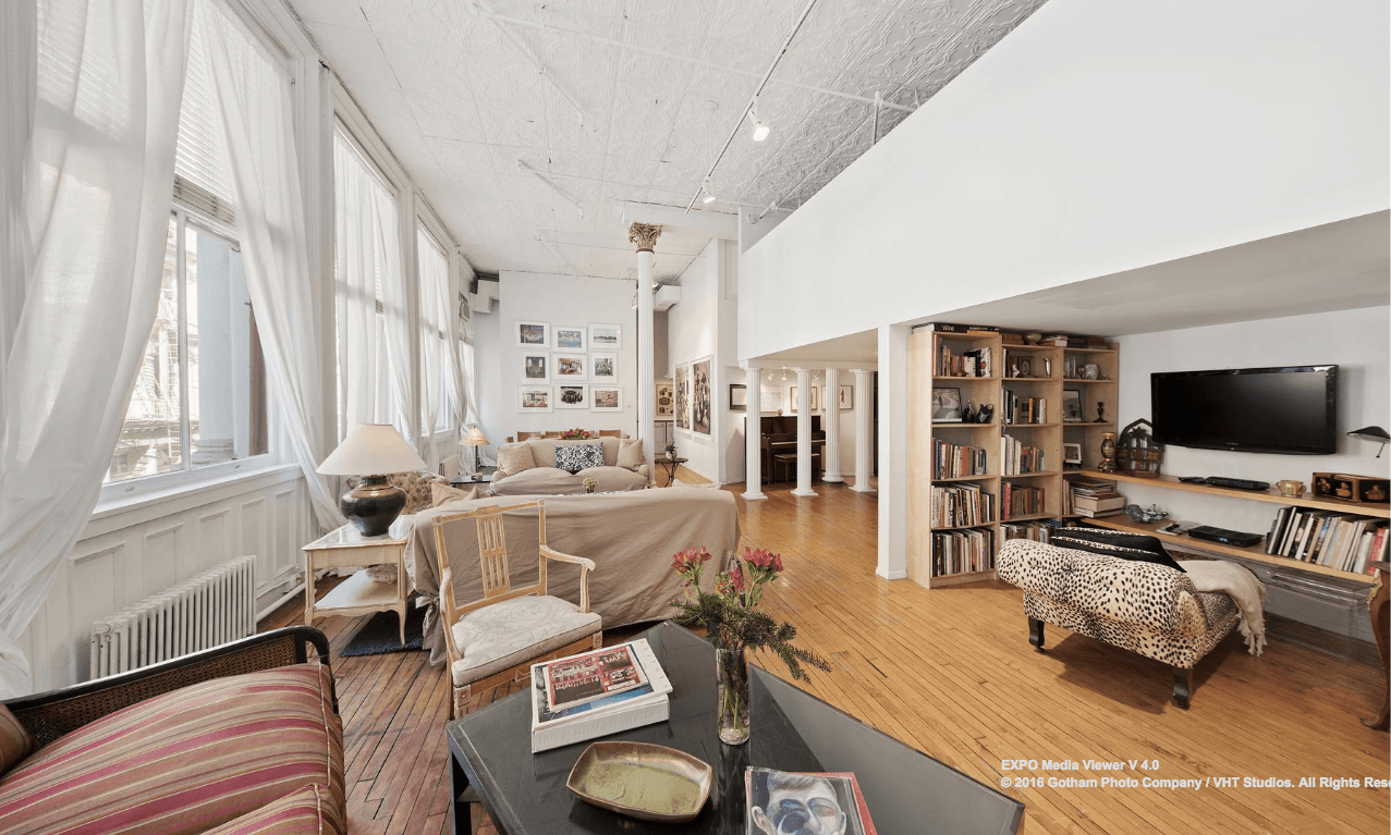 62 Greene Street, cool listings, lofts, Neal Slavin, Soho, rentals, loft rentals, manhattan lofts