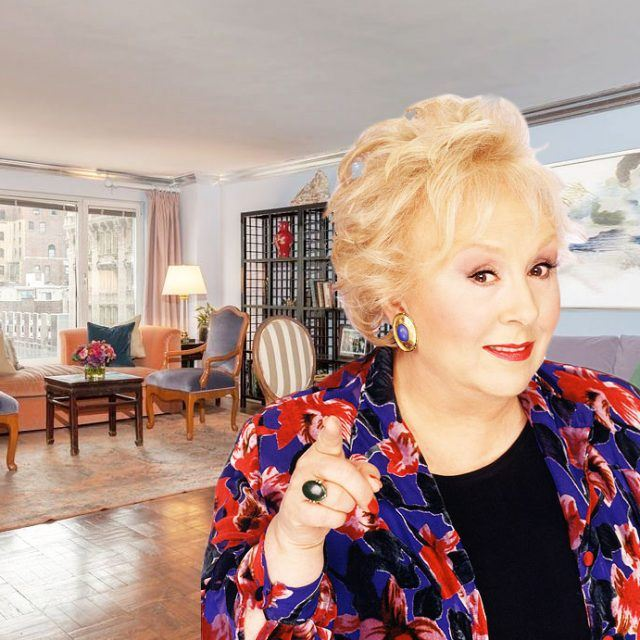 Central Park South co-op of the late Doris Roberts lists for $3.3M