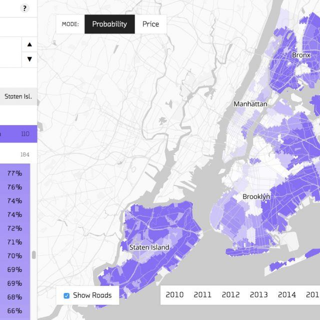 Map: Here's where you can afford to live in NYC in 2018