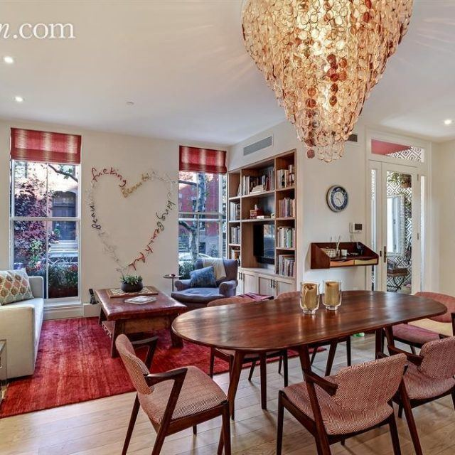 Art dealers' Cobble Hill townhouse has gym, wine cellar, and city views for $6.5M