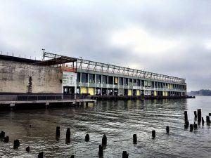 pier 57, google, google expansion, anthony bourdain, !MELK LANDSCAPE ARCHITECTURE AND URBAN DESIGN, GOOGLE, HANDEL ARCHITECTS, HUDSON RIVER PARK, HUDSON RIVER PARK TRUST, PIER 57, RXR REALTY, YOUNG WOO & ASSOCIATES