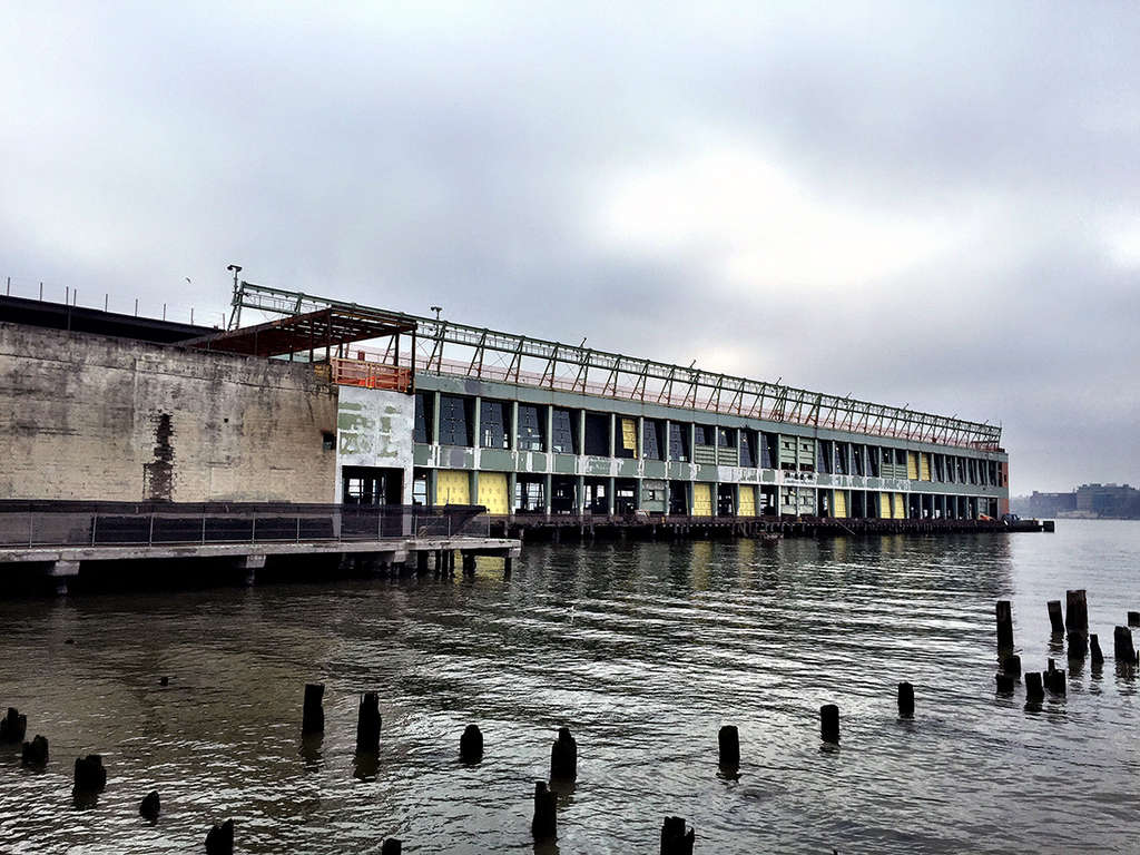 pier 57, google, google expansion, anthony bourdain, !MELK LANDSCAPE ARCHITECTURE AND URBAN DESIGN, GOOGLE, HANDEL ARCHITECTS, HUDSON RIVER PARK, HUDSON RIVER PARK TRUST, PIER 57, RXR REALTY, YOUNG WOO & ASSOCIATES