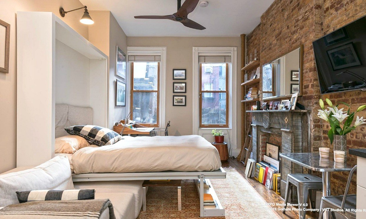Cozy Greenwich Village Studio With Murphy Bed Is Renting