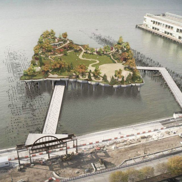 Pier 55 project files appeal to stop work order; Durst says he backed opposition