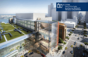 Empire State Development, Jacob K. Javits Convention Center, ESD, Javits Center, Javits, Lendlease, Turner, Midtown West, New York Convention Center Development Corporation