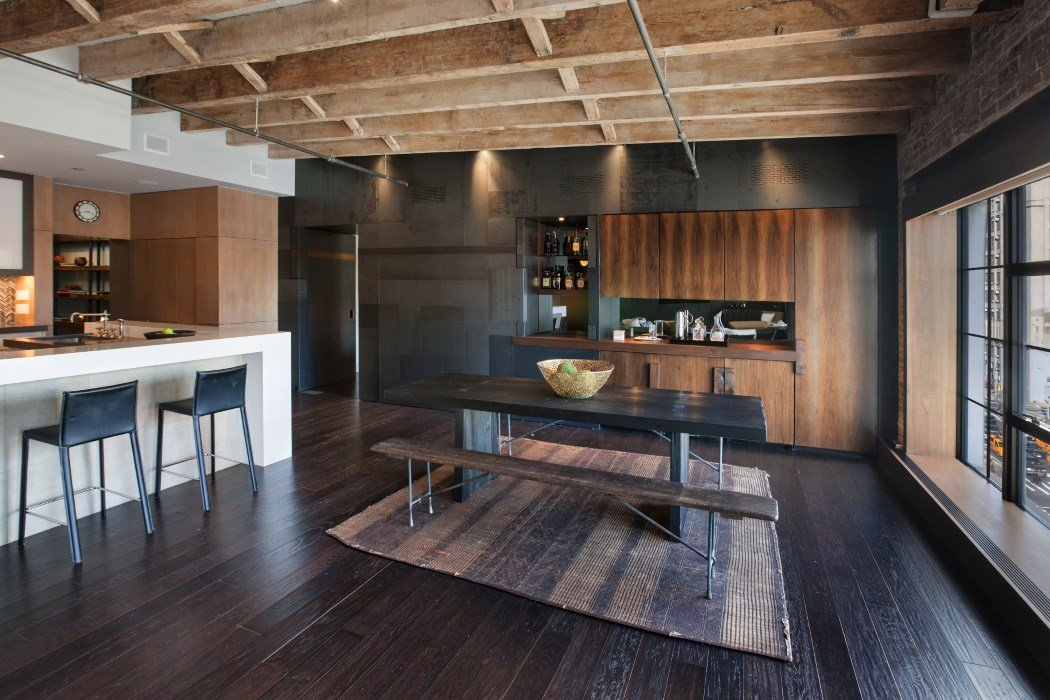Rich Wood Details Abound At This Full Floor 5 75m Loft In